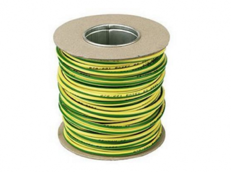 Single Core Cable Green/Yellow 10mm x 50mm