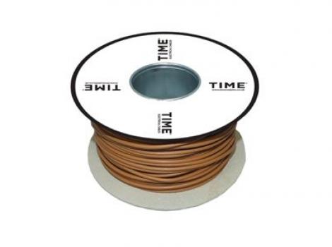 Pitacs 2.5mm² Single Core Conduit Wiring 6491X Brown 100m