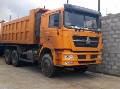 Yellow Brick Sand - SINO Truck