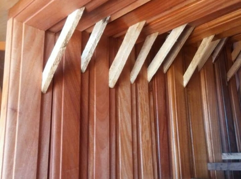 Wooden Door Frames with out Vent section ( Various sizes)