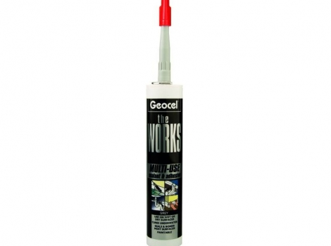 Geocel theWORKS Adhesive Clear 290ml