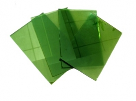 Green Tempered glass ( Various sizes)