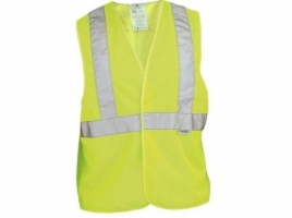 High-Visibility Yellow Reflective Personal Safety Vest