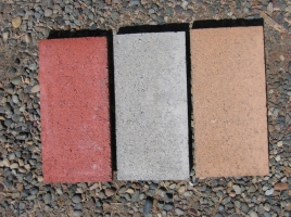 Rectangular Concrete Paver - colour