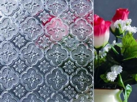 Patterned Glass | Figured glass ( Various sizes)