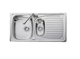 1.5 Bowl Stainless Steel Sink