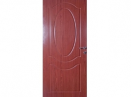 Classic Series -Imported light- Flush Doors (Red Walnut)