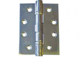 Hinge 2 Ball Bearing Polished Stainless Steel Pack 1